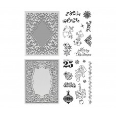 Couture Creations Highland Christmas Kit 4 - Stamp & Emboss Sets - 5% discount